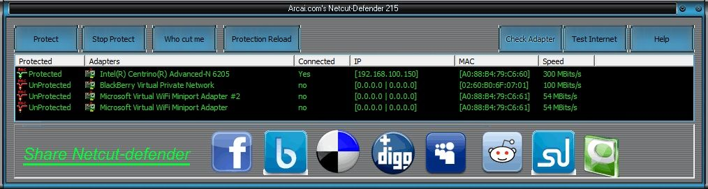 NetCut Defender: Guarding against foreign attacks