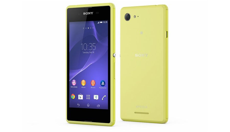 results sony xperia e3 dual price in india alone