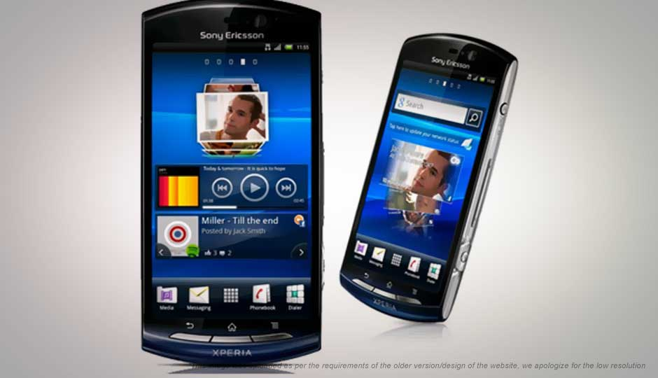 Sheila sony ericsson xperia neo price in india