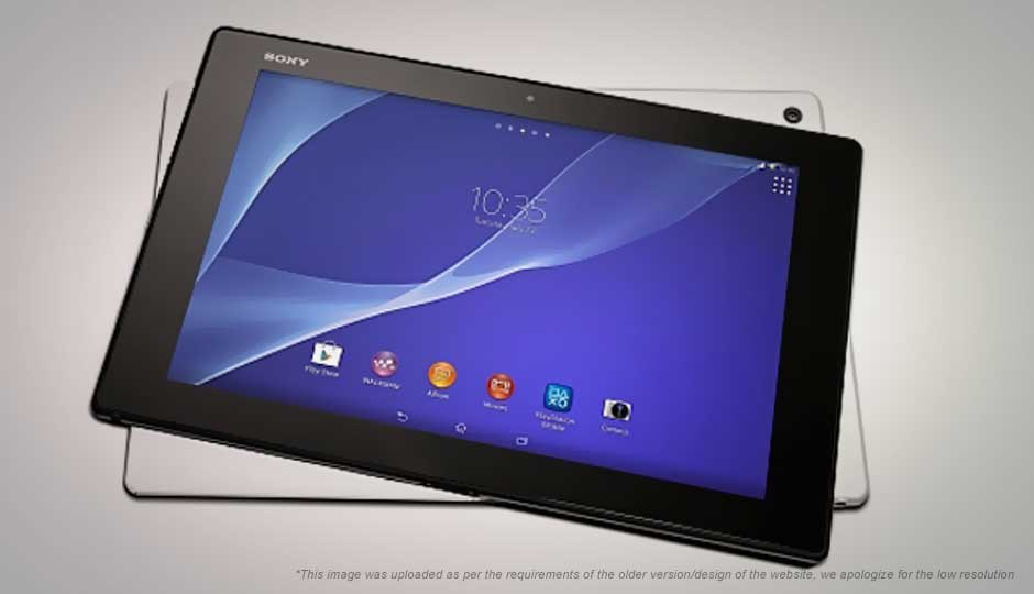Sony Xperia Z2 Tablet WiFi Price in India, Specification ...