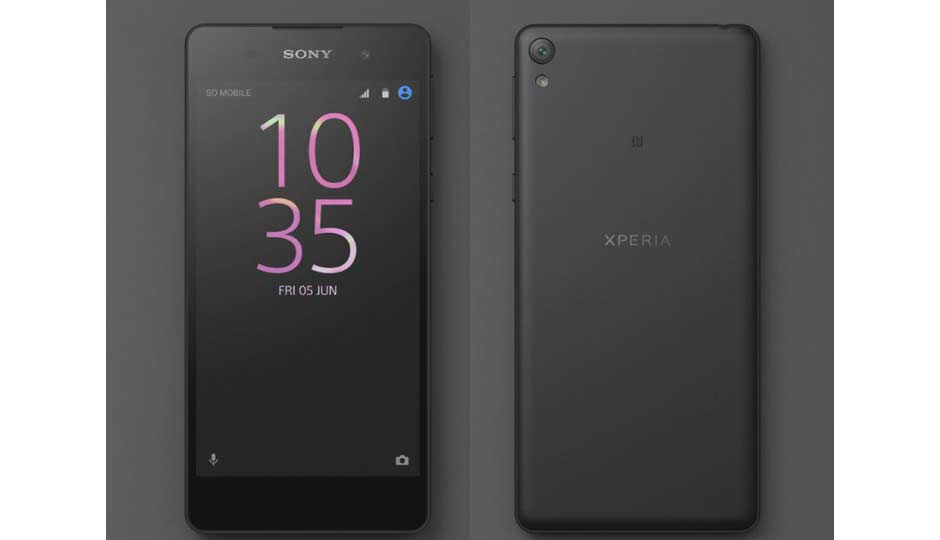 sony xperia e5 price in india specification features. Black Bedroom Furniture Sets. Home Design Ideas