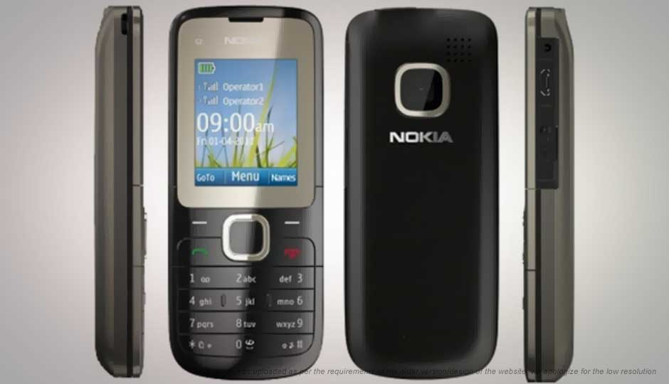 nokia c2 00 price in india specification features