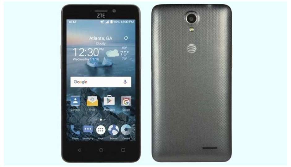 zte maven 2 cricket left