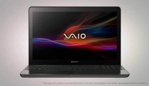 Sony  VAIO Fit 15 SVF15A13SNB