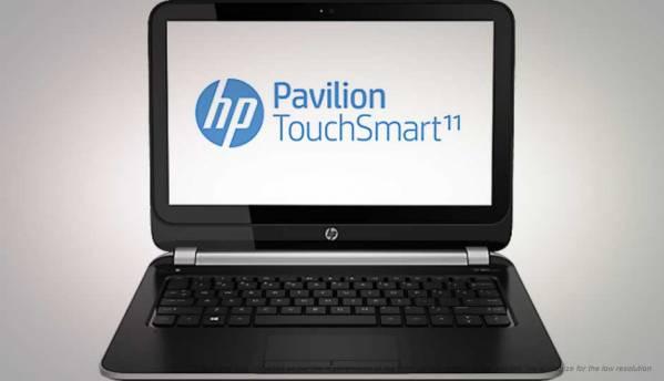 HP Pavilion TouchSmart 11-e006AU