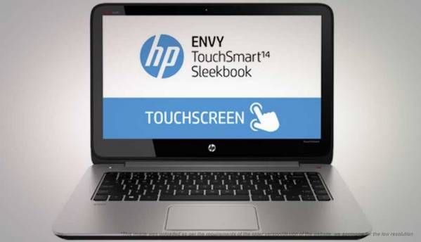 HP Envy Touchsmart 14-K011TU