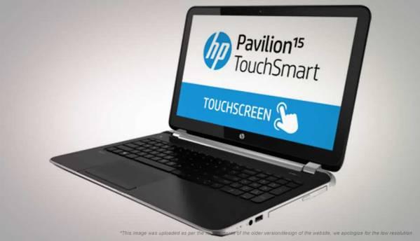 HP Pavilion TouchSmart 15-N015TX