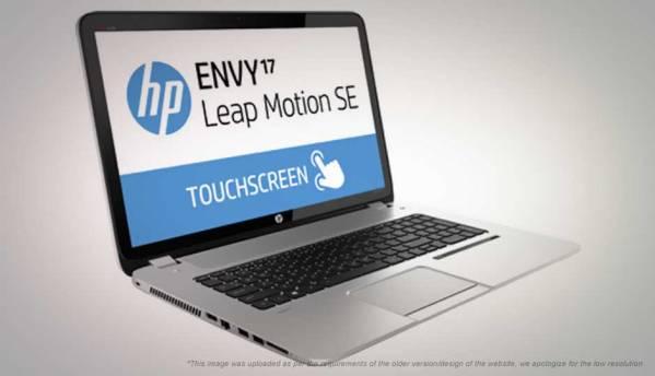 HP Envy 17-J102TX Leap Motion Touchsmart SE