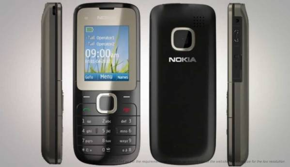 compare nokia c2 00 vs nokia 216 dual sim. Black Bedroom Furniture Sets. Home Design Ideas