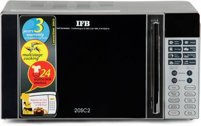 Compare Ifb 20sc2 20 L Convection Microwave Oven Vs Ifb
