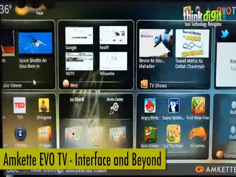 Amkette EVO TV - Interface and Beyond