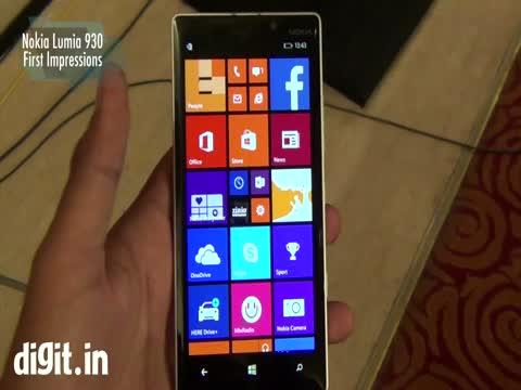 Nokia Lumia 930 - First Impressions