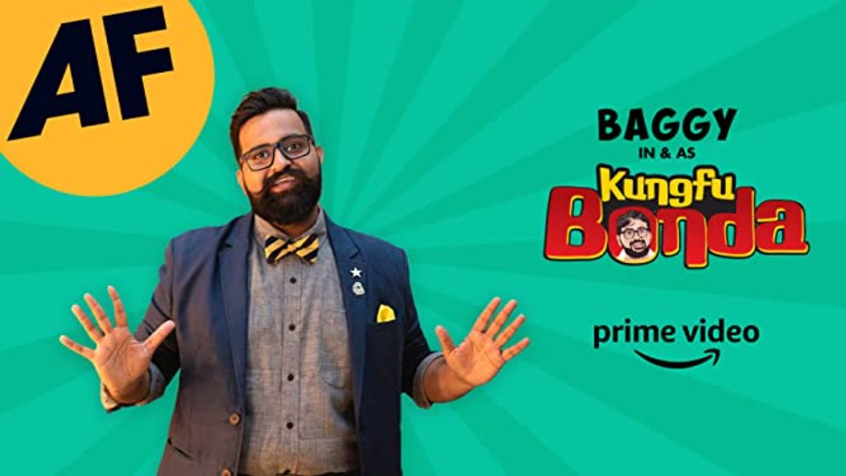 Baggy in & as KungFu Bonda: A Mostly English Stand Up Comedy Special