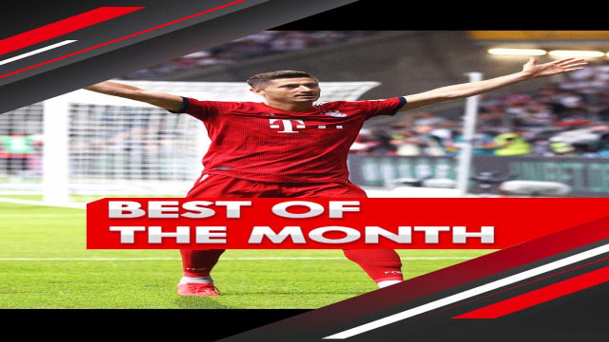 Bundesliga Best of the Month 2019/20