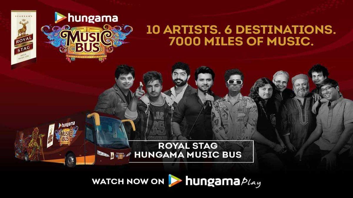 Royal Stag Hungama Music Bus
