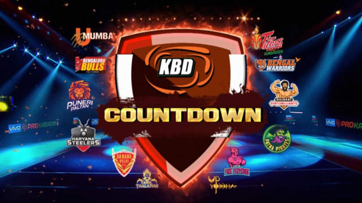 KBD - PKL 7 Countdown 2019 Telugu