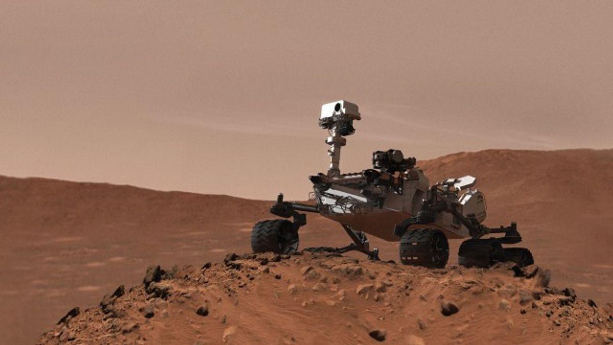Martian Mega Rover