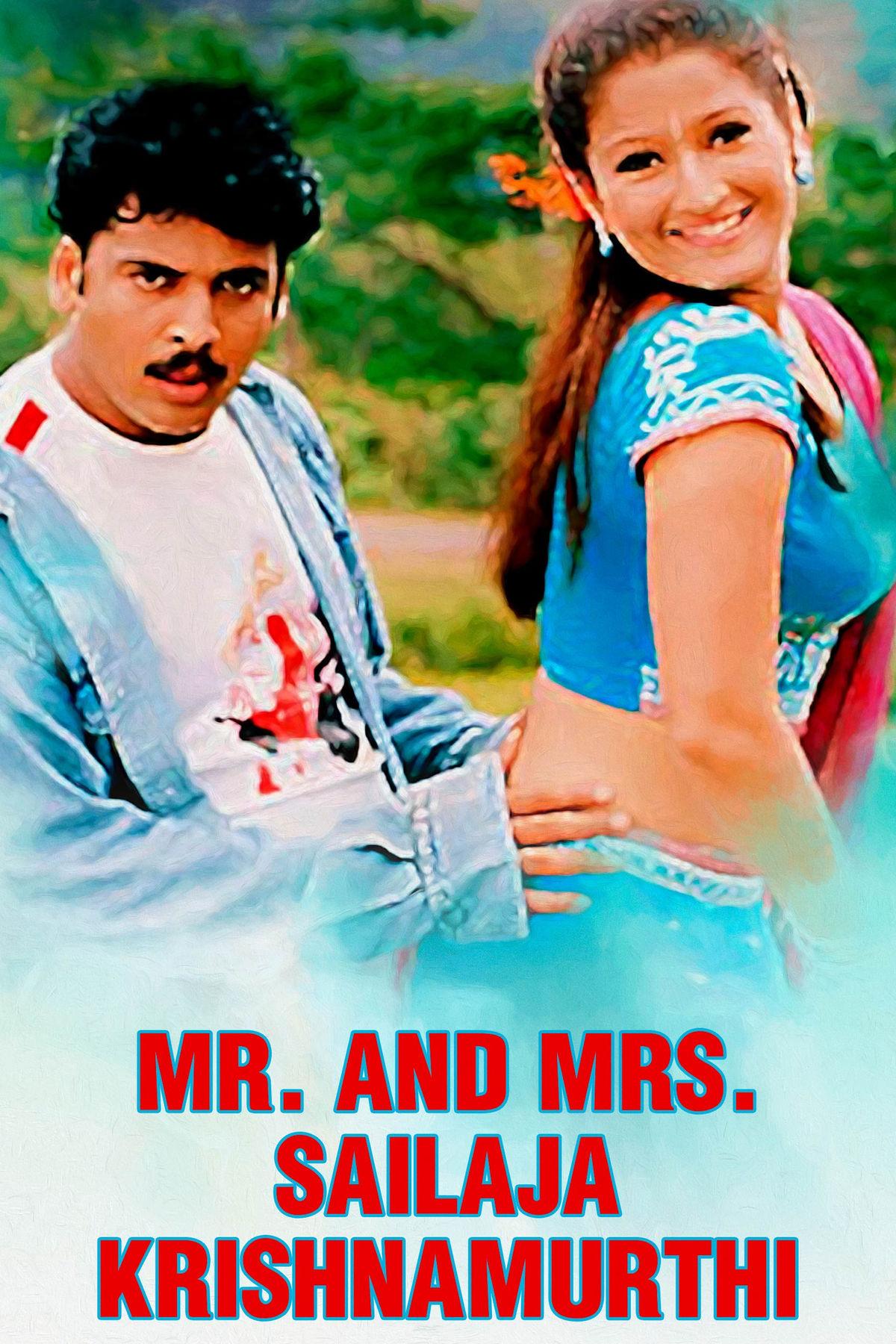 Mr. And Mrs. Sailaja Krishnamurthi