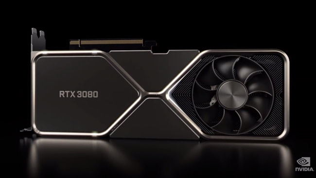 Nvidia says there could be shortages of the RTX 3080 and 3090