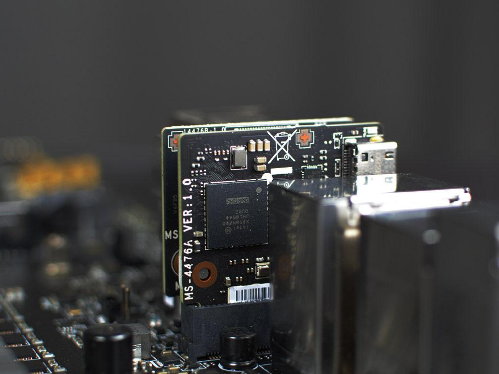 MSI MEG Z590 ACE Gaming Motherboard Intel Thunderbolt JHL8540