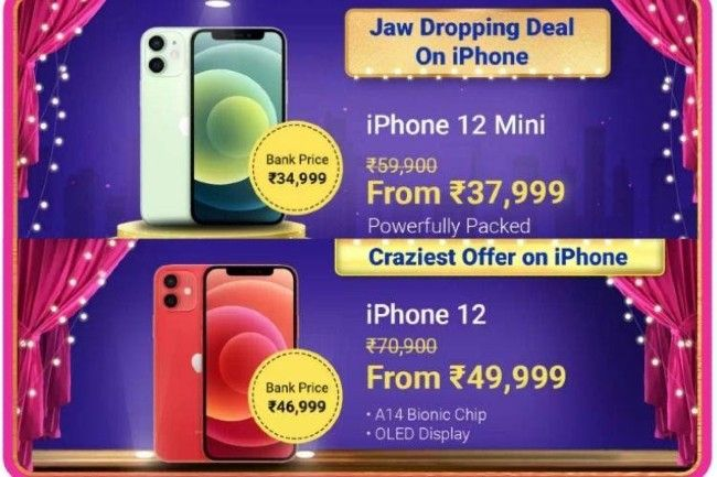 2 Lakh units of iPhone 12 sold during the Big Billion Days
