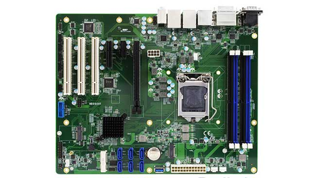 iBASE MB995 Intel Xeon E 2100 motherboard C246 chipset