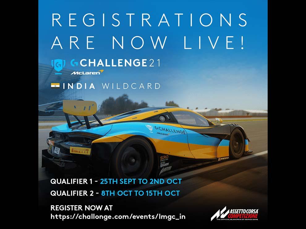 Logitech McLaren G Challenge India