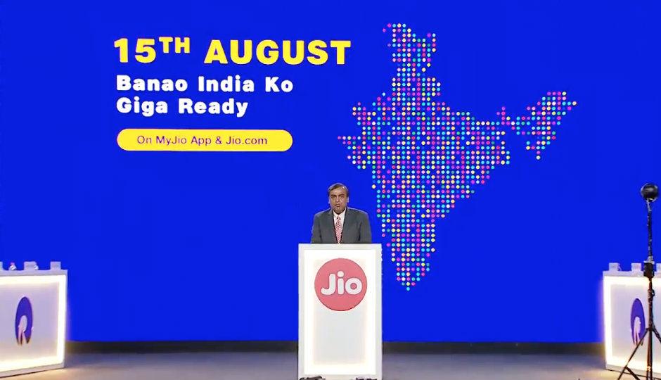 Reliance Jio announces JioPhone 2, JioGigaFiber, JioGigaTV set-to...