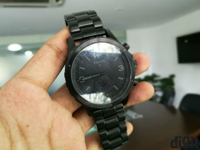 49297f8d500 Fossil Q Nate Review  Watch first
