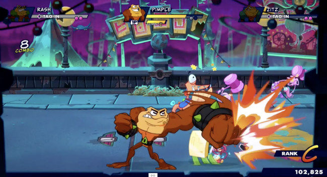 Battletoads is a beat 'em up brawler with bits of other genres thrown in
