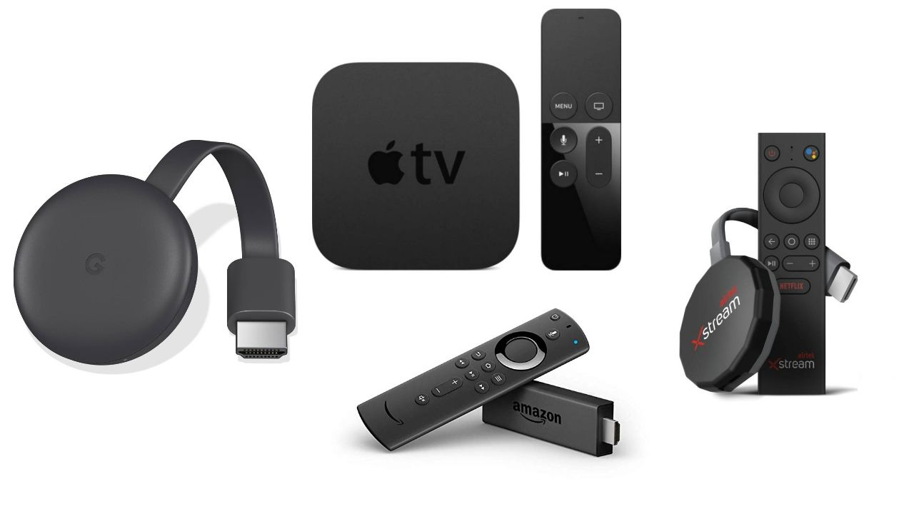 Airtel Xstream Stick vs Airtel Xstream Box vs Chromecast vs