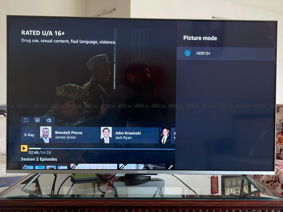 The Mi TV 5X supports HDR 10+