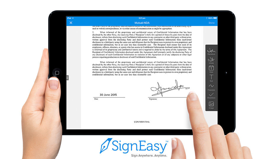 Image result for signeasy app on note 8
