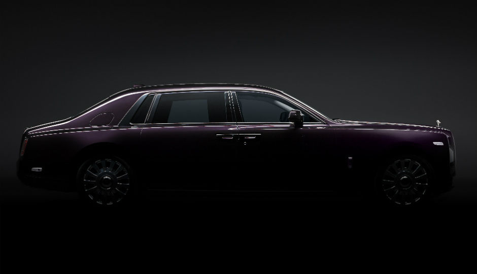 The rolls royce phantom viii is literally the new for Definition of opulance