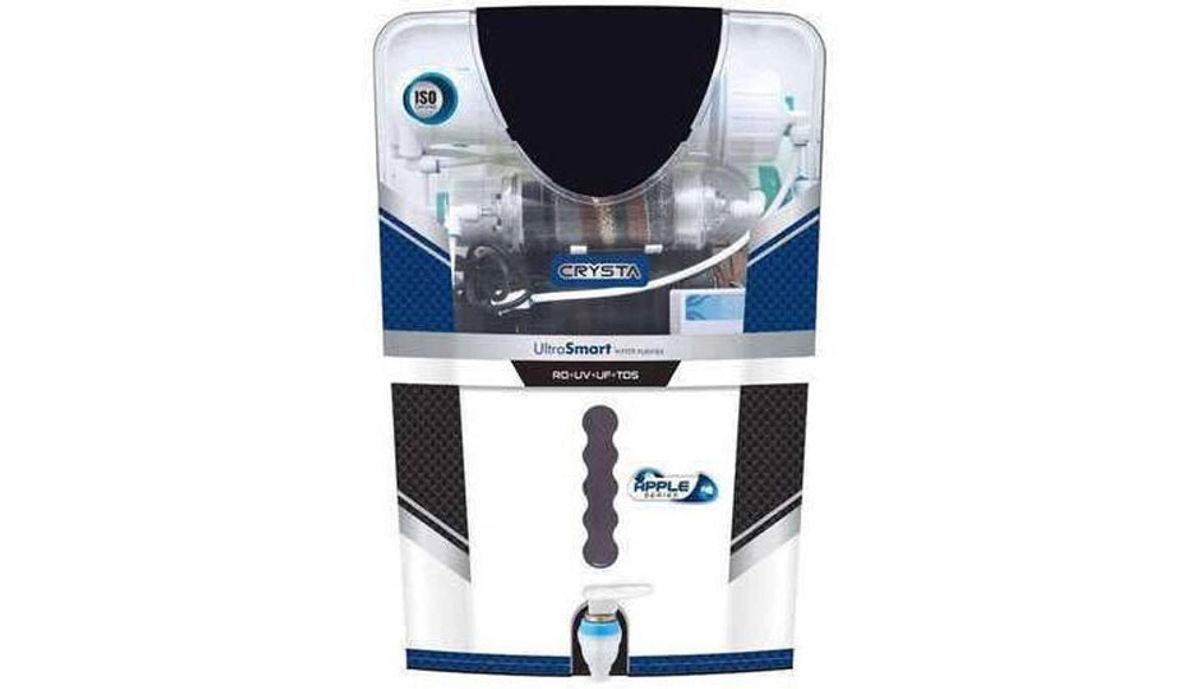 pureness ysta 12 RO + UV + UF + TDS Water Purifier (White)