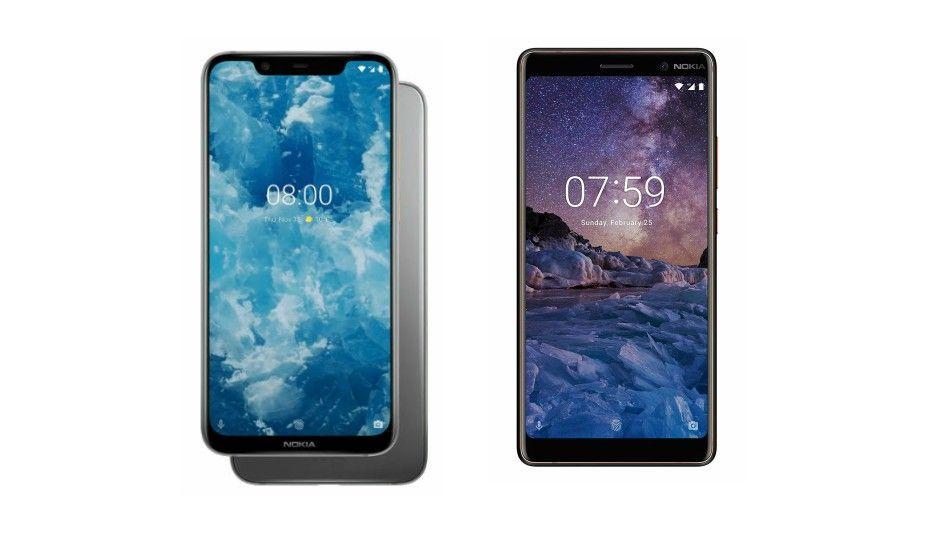 Specs comparison: Nokia 81 vs Nokia 7 Plus