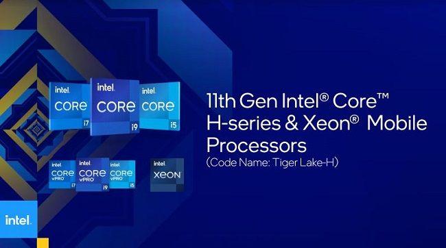 Intel H45 Tiger Lake processors