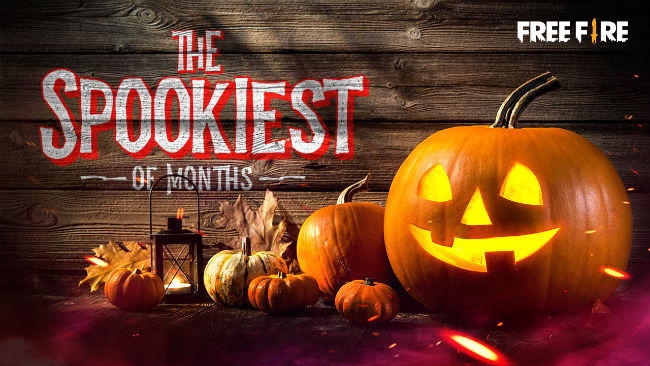 Garena Free Fire will introduce a Halloween-themed event in October
