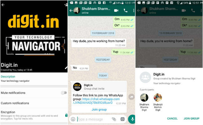 WhatsApp rolls out Group Description, search participants and more