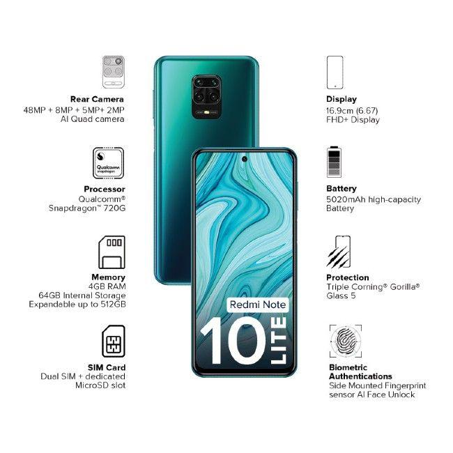 Redmi Note 10 Lite Availability: