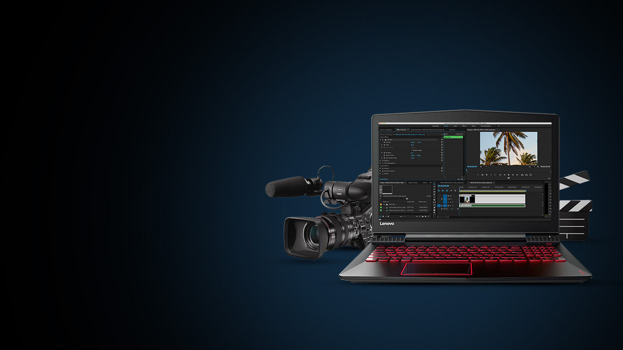 Choosing the right laptop for the budding filmmaker in you