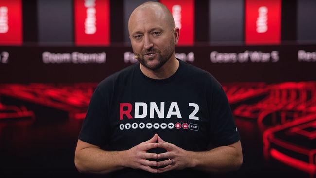 AMD Radeon RX 6000 Scott Herkelman