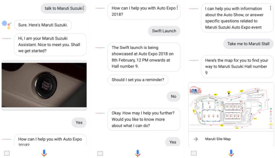 Maruti Suzuki Assistant On Google Assistant Here S
