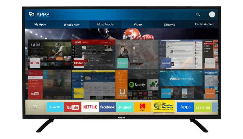 8d218b7c088 Kodak 50 inches Smart Full HD LED TV Price in India