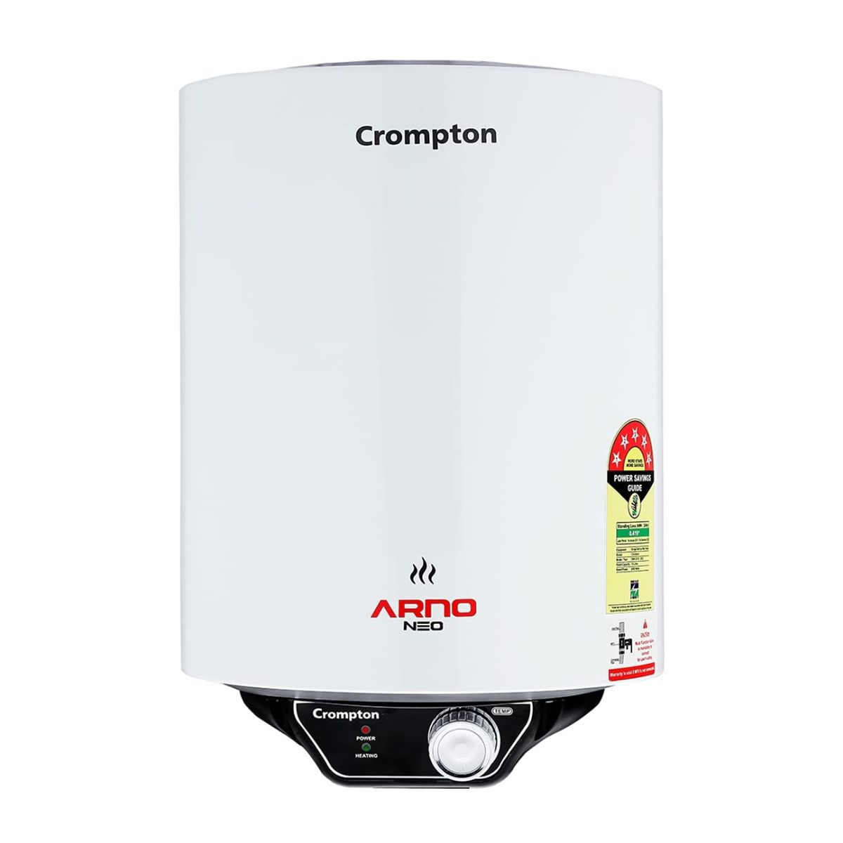 Crompton Arno Neo 15-L 5 Star Rated Storage Water Heater