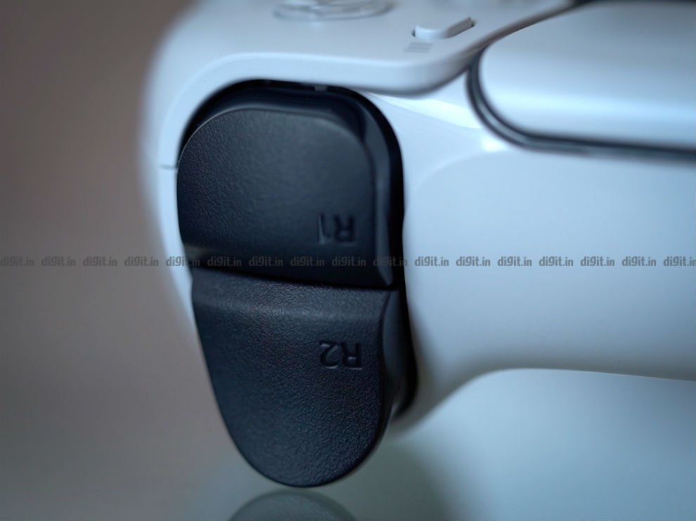 The shoulder buttons on the DualSense Controller are bigger this time.