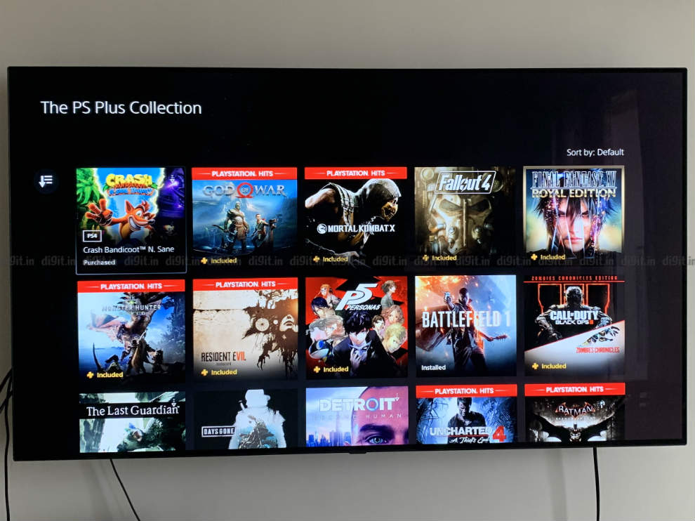 PlayStation Collection is a curation of 20 games.