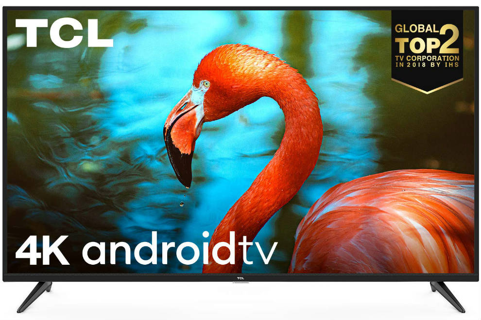 The TCL P8 runs on Android TV.