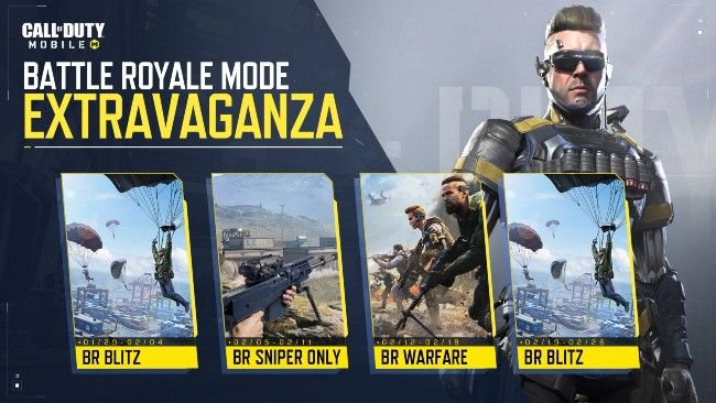 Call of Duty: Mobile's Season 1 update includes a number of Battle Royale-centric events