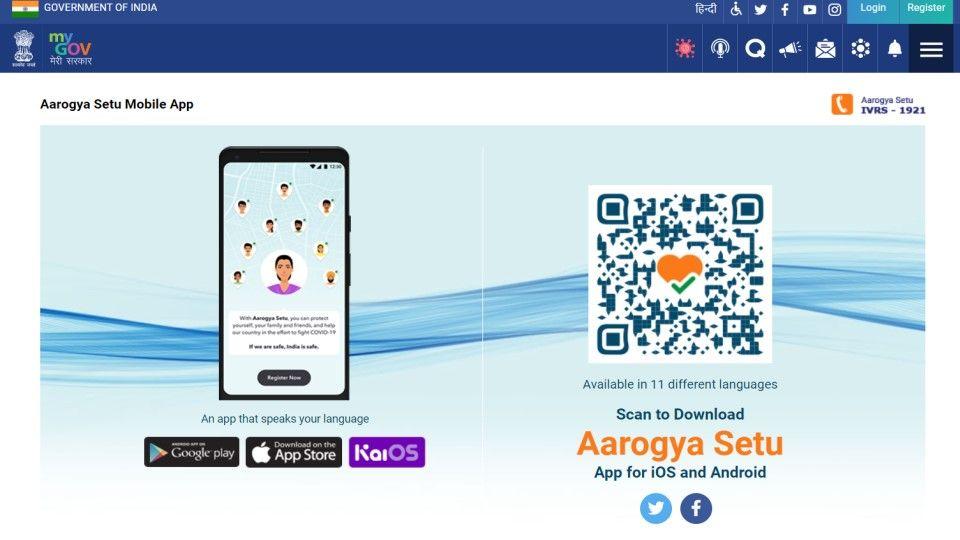 Download Covid 19 certificate from Aarogya setu app